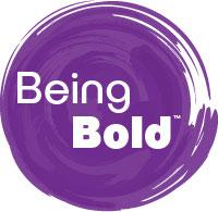 Being Bold logo