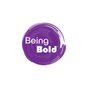 Being Bold logo