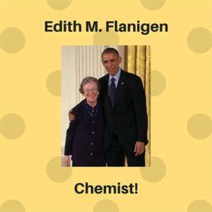 Edith M Flanigen