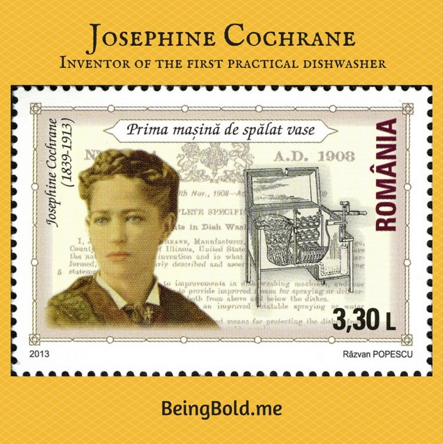 Josephine Cochrane, Inventor of the Dishwasher!
