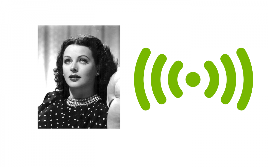 Hedy Lamarr and Frequency Hopping