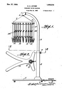 Image of Patent Drawing for Invention by Marjorie Joyner