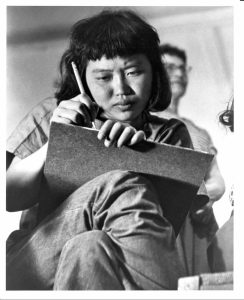 Ruth Asawa at Black Mountain College, 1946-1949