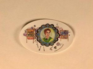Josephine Cochrane, inventor of the dishwasher, sticker
