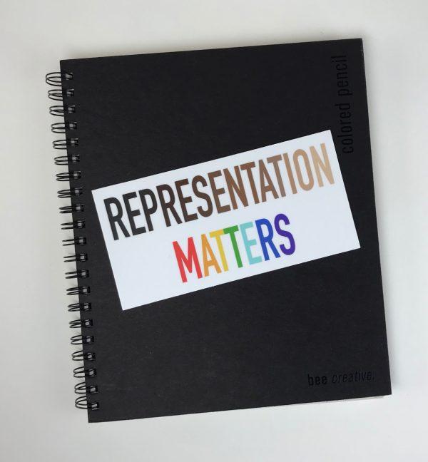Representation Matters Bumper Sticker