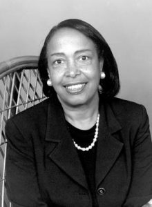 Portrait of Dr. Patricia Bath.