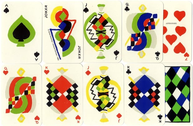 Playing Cards by Sonia Delaunay