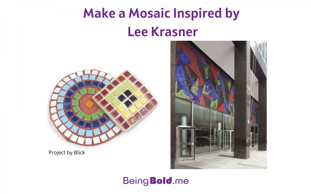 Make a Mosaic Inspired by Lee Krasner