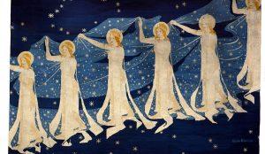 Milky Way Tapestry by Frida Hansen