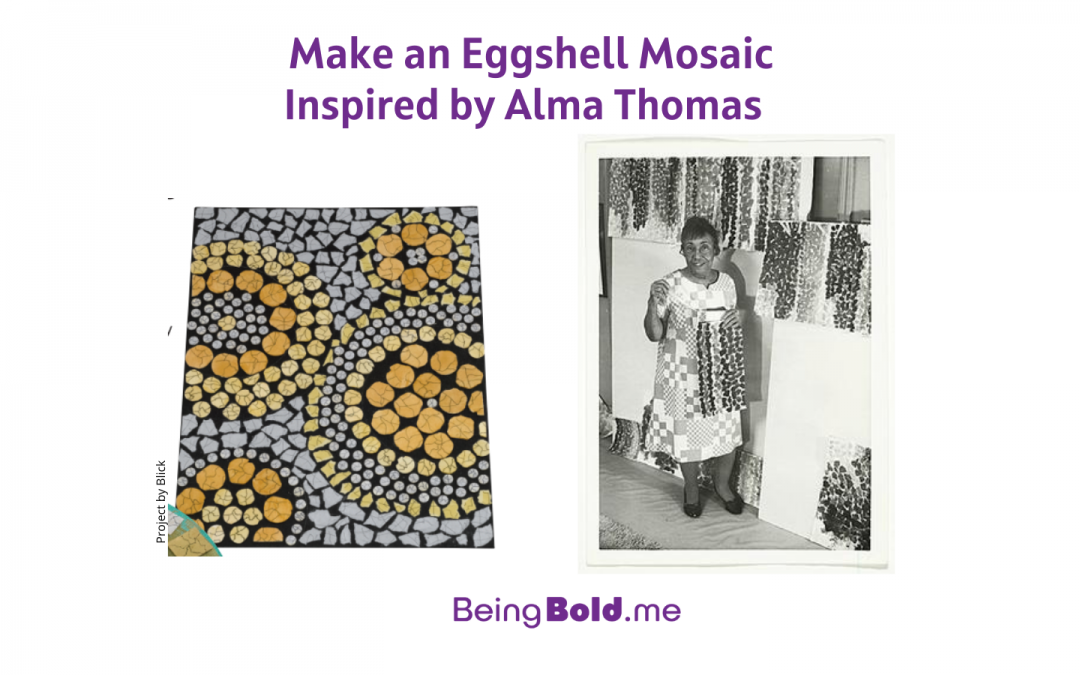 Make a Mosaic Inspired by Alma Thomas