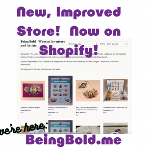 New, Improved Store! Now on Shopify!