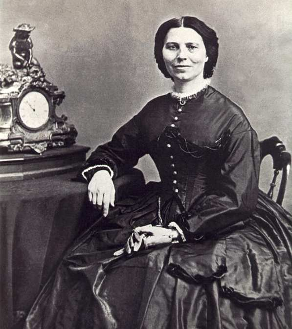 Portrait of Clara Barton, Founder of the American Red Cross, photo by Matthew Brady