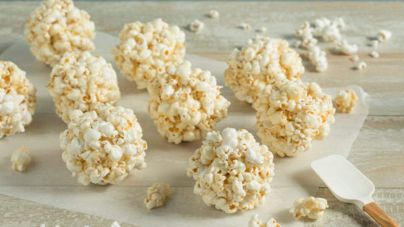 Inventions for Making Popcorn Balls through History!